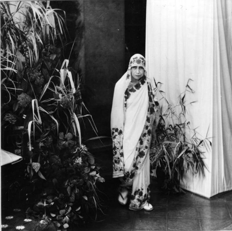 श्री अरविंद आश्रम की श्री माँ का चित्र
