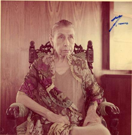 श्री माँ का चित्र