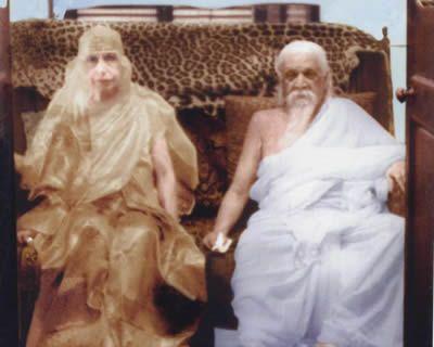 प्रभु श्रीअरविंद और जगदजननी श्री माँ