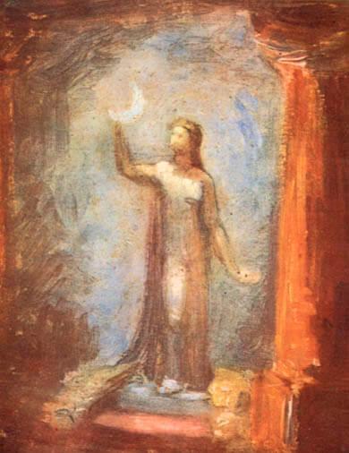 श्रीअरविंद आश्रम की श्री माँ की पेंटिंग