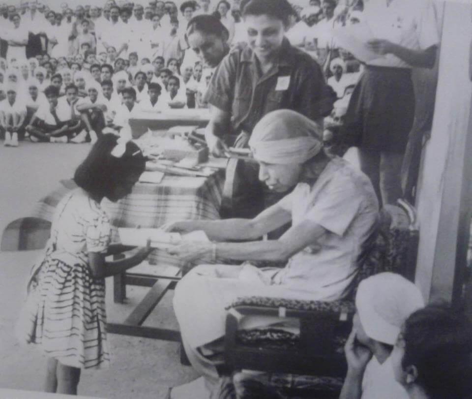 श्री माँ मीरा श्रीअरविंद आश्रम पुडुचेरी की संस्थापिका